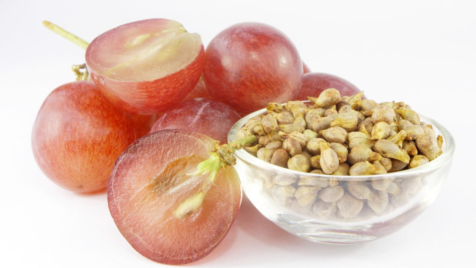 Traubenkern: heilt durch die Kraft der Antioxidantien, kann Krebs vorbeugen