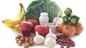 prebiotické jedlá